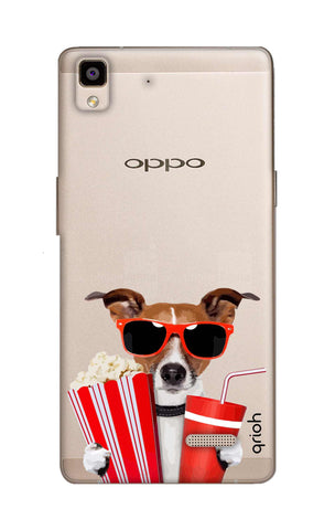 Dog Watching 3D Movie Oppo R7 Cases & Covers Online