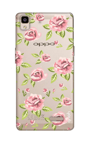 Elizabeth Era Floral Oppo R7 Cases & Covers Online