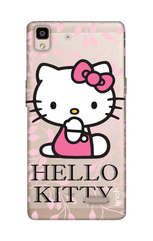 Hello Kitty Floral Oppo R7 Cases & Covers Online