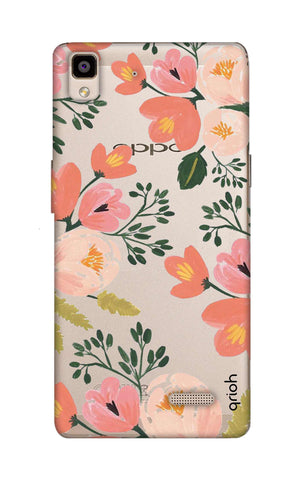 Painted Flora Oppo R7 Cases & Covers Online
