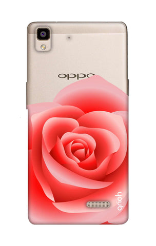 Peach Rose Oppo R7 Cases & Covers Online