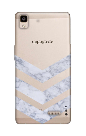 Marble Chevron Oppo R7 Cases & Covers Online