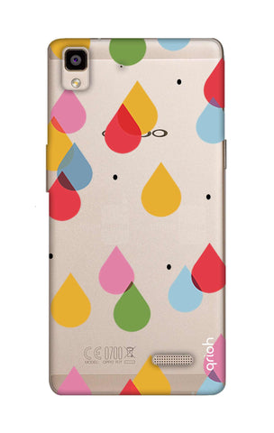 Colourful Drops Oppo R7 Cases & Covers Online