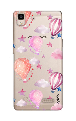 Flying Balloons Oppo R7 Cases & Covers Online