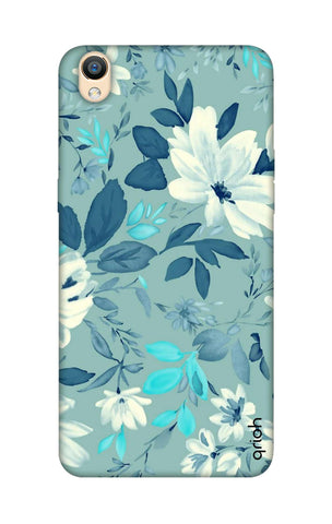 White Lillies Oppo R9 Cases & Covers Online