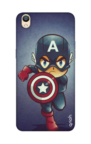 Toy Capt America Oppo R9 Cases & Covers Online