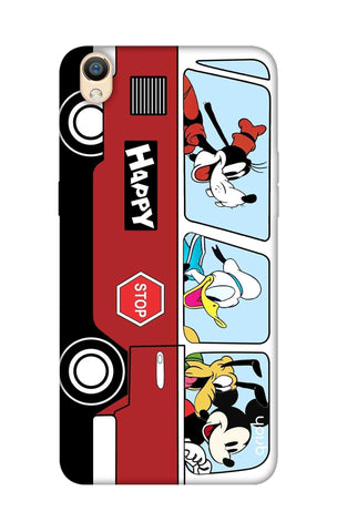 Cartoon Bus Oppo R9 Cases & Covers Online