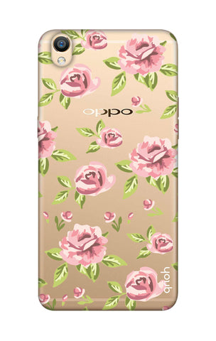 Elizabeth Era Floral Oppo R9 Cases & Covers Online
