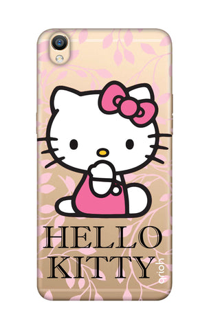 Hello Kitty Floral Oppo R9 Cases & Covers Online