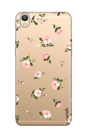 Pink Rose All Over Oppo R9 Cases & Covers Online