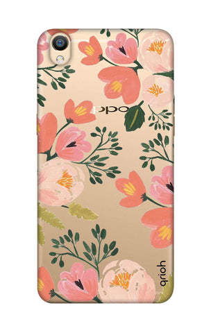 Painted Flora Oppo R9 Cases & Covers Online