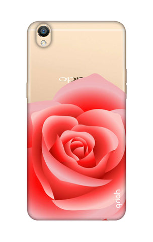 Peach Rose Oppo R9 Cases & Covers Online