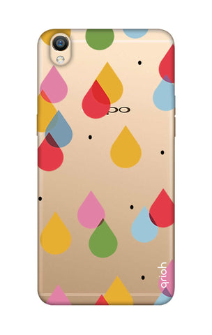 Colourful Drops Oppo R9 Cases & Covers Online
