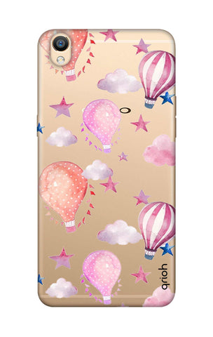 Flying Balloons Oppo R9 Cases & Covers Online