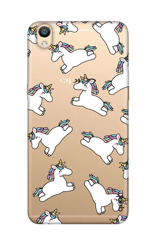 Jumping Unicorns Oppo R9 Cases & Covers Online