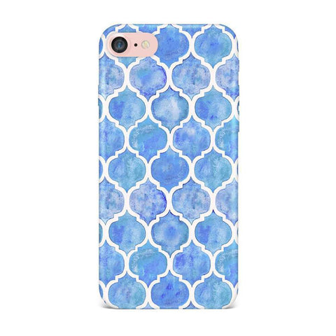 Aqua Vintage Case for iPhone 7