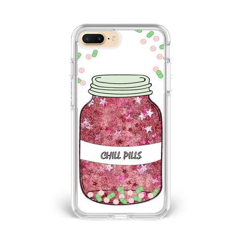 Chill Pill Glitter Case