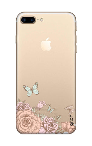 Flower And Butterfly iPhone 7 Plus Cases & Covers Online