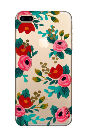Red Floral iPhone 7 Plus Cases & Covers Online