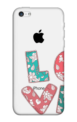 Love Text iPhone 5C Cases & Covers Online
