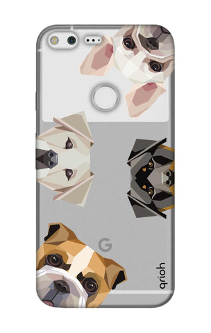 Geometric Dogs Google Pixel Cases & Covers Online
