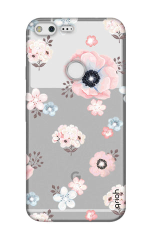 Beautiful White Floral Google Pixel Cases & Covers Online
