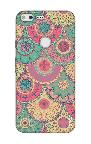 Colorful Mandala Google Pixel XL Cases & Covers Online