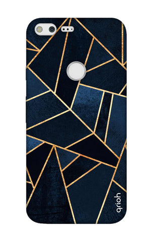 Abstract Navy Google Pixel XL Cases & Covers Online