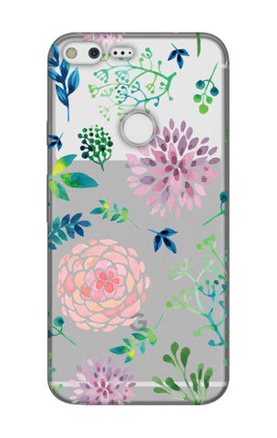 Lillies, Orchids And Leaves Google Pixel XL Cases & Covers Online
