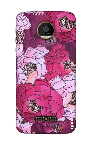 Vector Floral Motorala Moto Z Force Cases & Covers Online