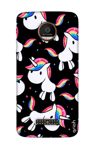 Colourful Unicorn Motorala Moto Z Force Cases & Covers Online