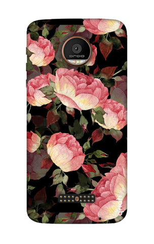 Watercolor Roses Motorala Moto Z Force Cases & Covers Online