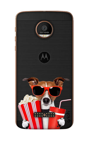 Dog Watching 3D Movie Motorala Moto Z Force Cases & Covers Online
