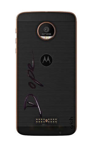Dope Paint Black Motorala Moto Z Force Cases & Covers Online