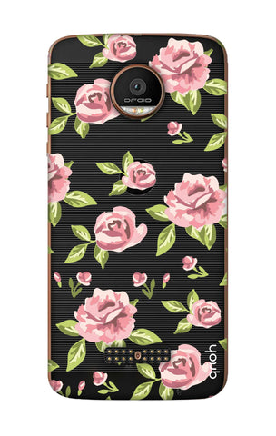 Elizabeth Era Floral Motorala Moto Z Force Cases & Covers Online
