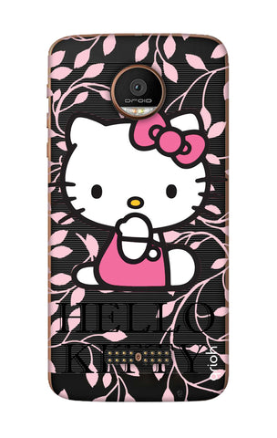 Hello Kitty Floral Motorala Moto Z Force Cases & Covers Online