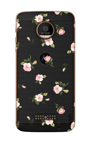 Pink Rose All Over Motorala Moto Z Force Cases & Covers Online