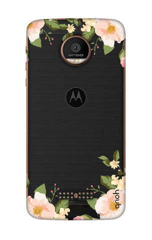 Flower In Corner Motorala Moto Z Force Cases & Covers Online