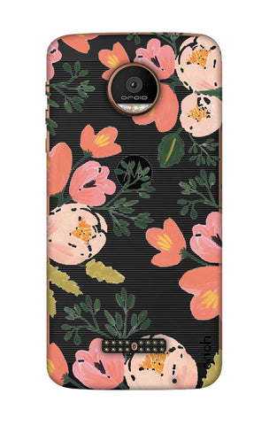 Painted Flora Motorala Moto Z Force Cases & Covers Online