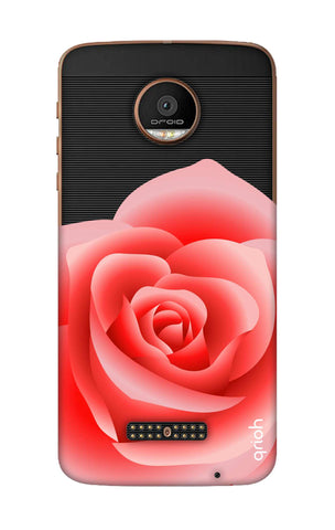 Peach Rose Motorala Moto Z Force Cases & Covers Online