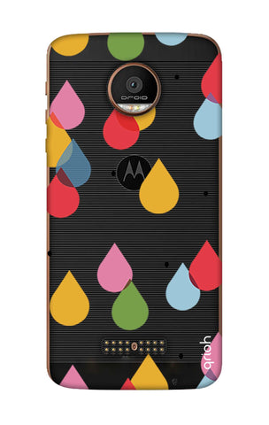 Colourful Drops Motorala Moto Z Force Cases & Covers Online