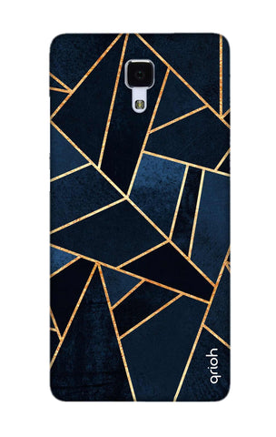 Abstract Navy Xiaomi Mi 4 Cases & Covers Online