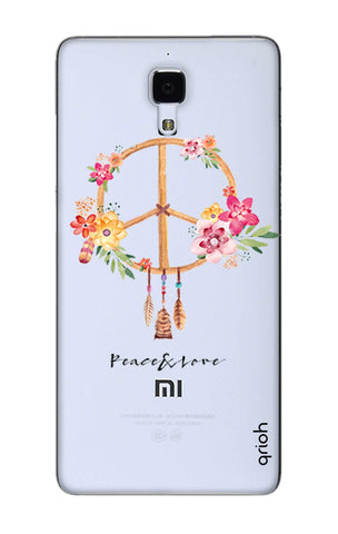 Peace And Love Xiaomi Mi 4 Cases & Covers Online