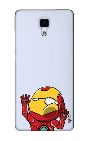Iron Man Wall Bump Xiaomi Mi 4 Cases & Covers Online