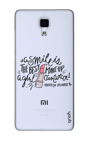 Make Up Smile Xiaomi Mi 4 Cases & Covers Online