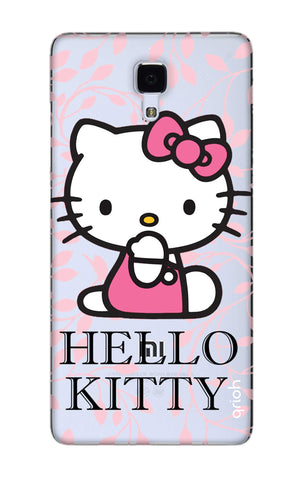 Hello Kitty Floral Xiaomi Mi 4 Cases & Covers Online