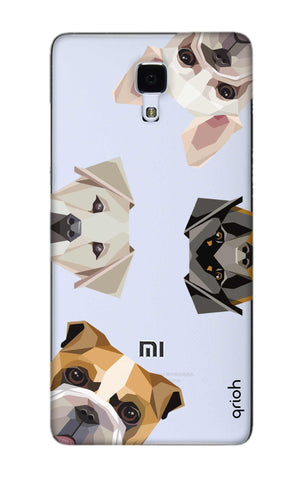 Geometric Dogs Xiaomi Mi 4 Cases & Covers Online