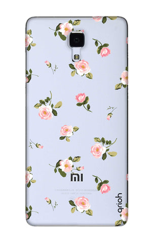 Pink Rose All Over Xiaomi Mi 4 Cases & Covers Online