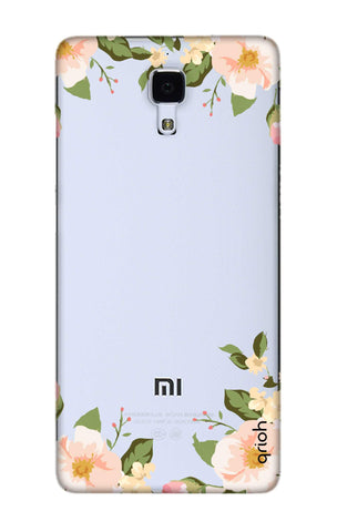 Flower In Corner Xiaomi Mi 4 Cases & Covers Online