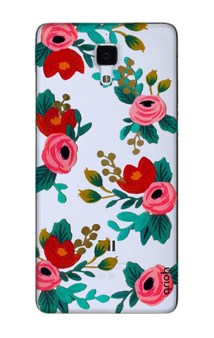 Red Floral Xiaomi Mi 4 Cases & Covers Online